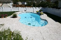 Atlantic Fiberglass Pool in Evangeline, LA